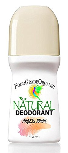 Organic & Natural Healing Deodorant for Men & Women Carcinogen-Free Aluminum-Free Alcohol-Free Gluten-Free Detox Deodorant All Day Protection for Adults & Children (Angel's (Alcohol Free Roll)