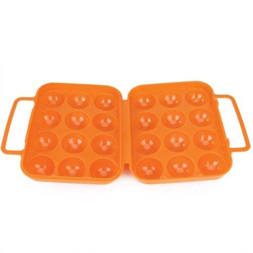 Sonline Portable Folding Plastic Container Orange