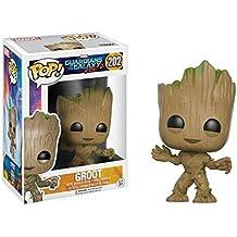 Figura de FunKo de Groot de pequeño, personaje de Guardianes de la Galaxia 2, películas POP, Estándar