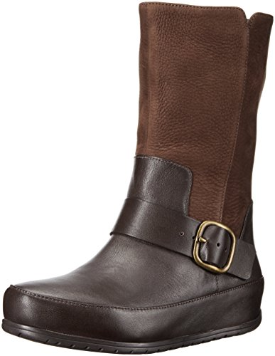 Brown Biker Boots For Women - 9