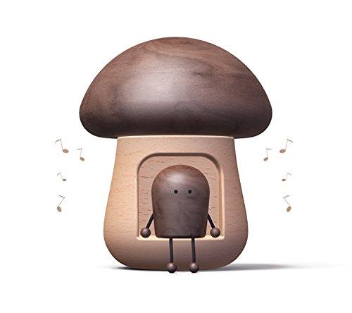 Peng sounded Musor Creative Mushroom Spieluhr Holzhandwerk Geschenk
