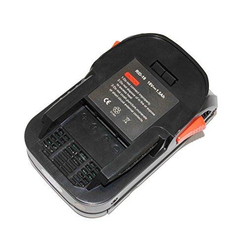 18V Replacement Power Tool Li-ion Battery for Rigid AEG BFL 18 AC840084 L1815R