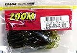 Zoom Bait Baby Brush Hog Bait-Pack of 12 (Watermelon Red, 5 1/2-Inch)