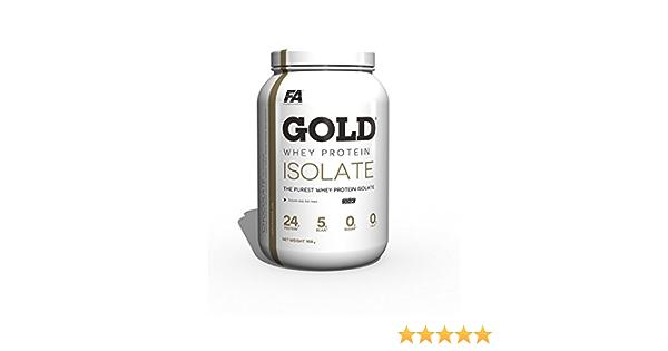 FA Gold Isolate Protein 908g Vainilla