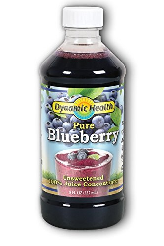 Dynamic Health Blueberry Juice Concentrate, 8-Ounce (Concentrate Juice Blueberry)