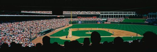 Walls 360 Peel & Stick Wall Mural: The Ballpark in Arlington (60 in x 20 - Parks The Arlington