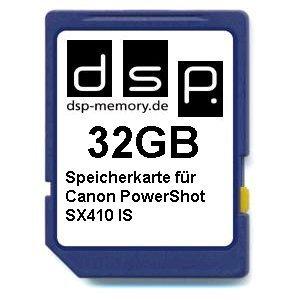 DSP Memory Tarjeta de memoria para Canon PowerShot SX410 IS ...