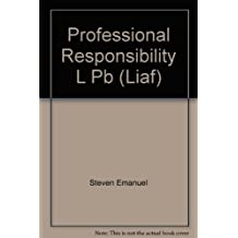 Law in a Flash: Professional Responsibility/Mpre