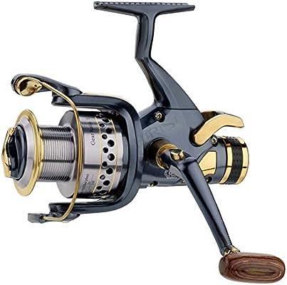 Greyghost Spinning Fishing Reel 5.2: 1 Carpa de Metal Rueda de ...
