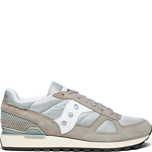 Adult Shadow - Saucony Unisex Adults' Shadow Original Vintage Gymnastics Shoes, (Grey/White 1), 10.5 UK 46 EU