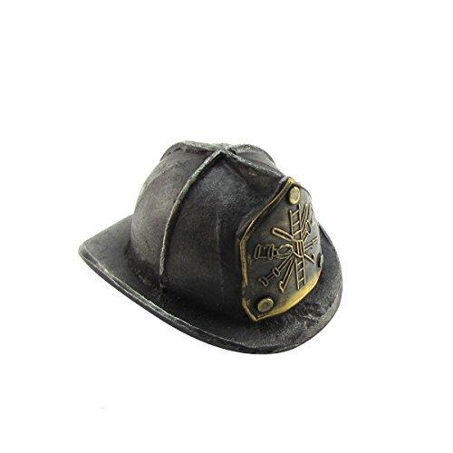 TreasureGurus, LLC Cast Iron and Brass Fire Hat FD Helmet Beer/Soda/Pop Bottle Opener Firefighter Gift