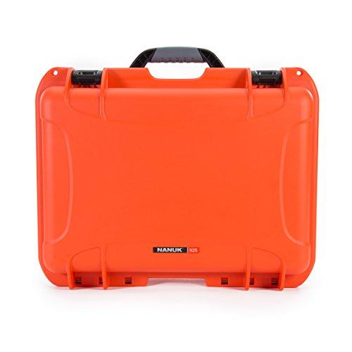 Nanuk 925-0003 925 Waterproof Hard Case, Empty, Orange