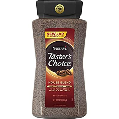 Nescafe Taster's Choice Instant Coffee House Blend - 14 Oz (397g) from Nescafe Taster's Choice