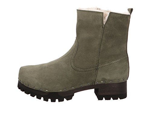 ... Softclox Ulrike S340904 Damen Stiefel in Mittel Green ...