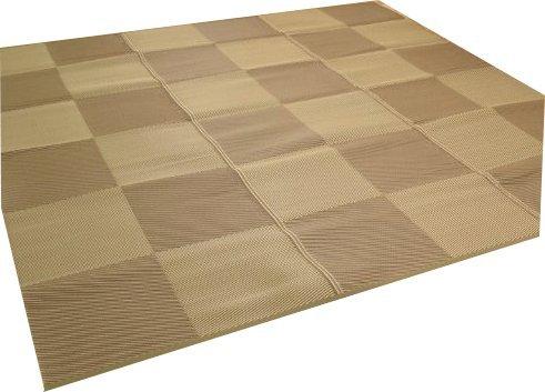 洗える PPカーペット「ラフテル」江戸間6畳(約261×352cm) (#2116506)【受注生産の為、約1週間後の出荷】 B00IN0CK52  江戸間6畳