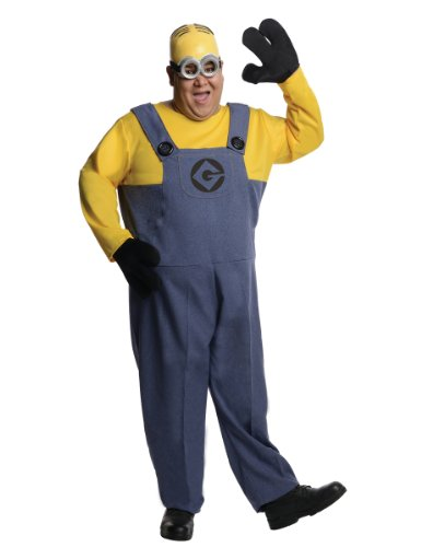 Rubie's Costume Plus-Size Despicable Me 2 Dave Minion, Multicolor, Plus Costume