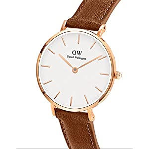 Daniel Wellington Petite Durham Watch, American Brown Leather Band