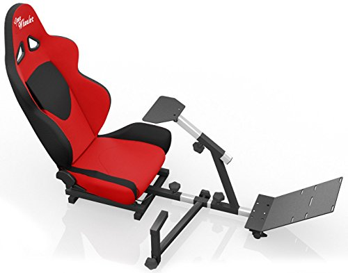 Openwheeler Advanced Racing Simulator Seat Driving Simulator Gaming Chair  With Gear Shift Mount, 852612005184