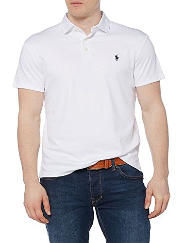 Ralph Lauren Polo Shirt, Men's Classic Collar Pima Soft Touch Polo, Size: Medium
