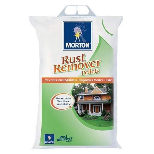 (Morton Rust Remover Super Pellets Salt - 40lbs)