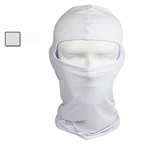 [Ezyoutdoor Cycle Bike Outdoor Head Neck Balaclava Full Face Mask Cover Hat Protection Outdoor Motorcycle Full Face Mask Lycra Balaclava] (Two Face Batman Halloween Costume)