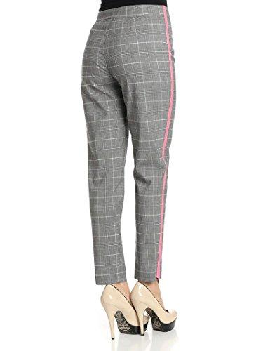 Pinko Pantaloni Donna 1G12XS6758ZZ1 Poliestere Grigio