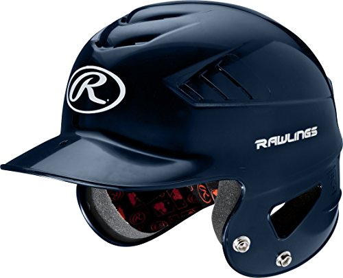 Rawlings Coolflo NOCSAE T-Ball Molded Helmet, Navy, One Size RCFTB