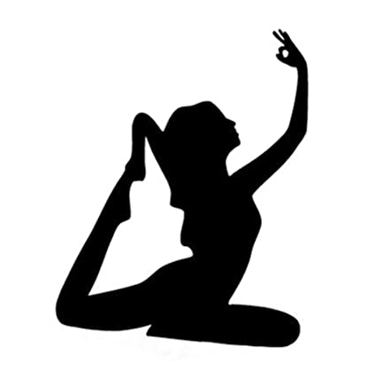 Fitness Yoga Yoga Sports Car Stickers Auto Personalidad Sexy ...