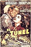 EL TUNEL 1952 Ernesto SABATO, Carlos Thompson, Laura Hidalgo DVD-R by Order without subt