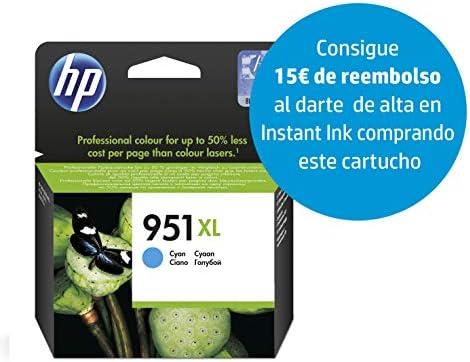 HP CN046AE 951XL Cartucho de Tinta Original de alto rendimiento, 1 ...