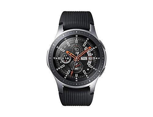Samsung Galaxy Watch 2019 (46mm) Bluetooth, Wi-Fi, GPS Smartwatch, SM-R800 - International Version (Silver) (Samsung Watch)