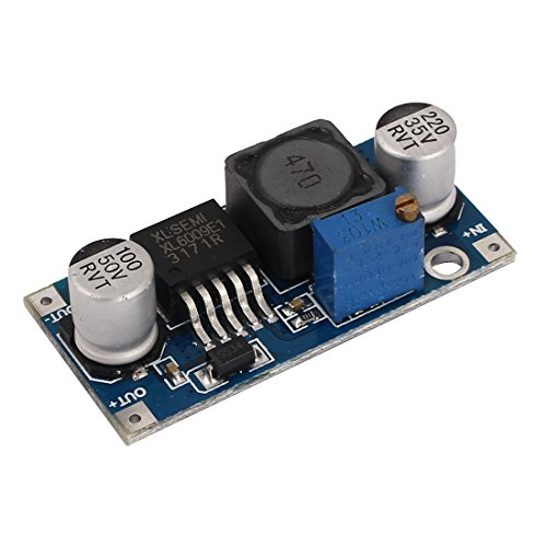 uxcell XL6009 3-32V to 5-35V DC-DC Adapter Booster Circuit Board Module