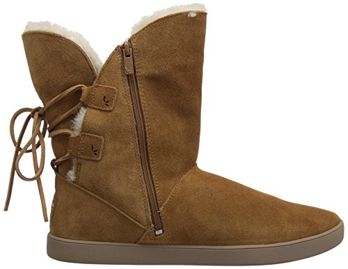 Koolaburra von UGG Damen Shazi Short Fashion Boot Kastanie