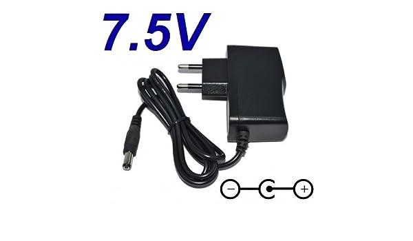 Cargador Corriente 7.5V Reemplazo Tablet VTech Storio 3 S ...