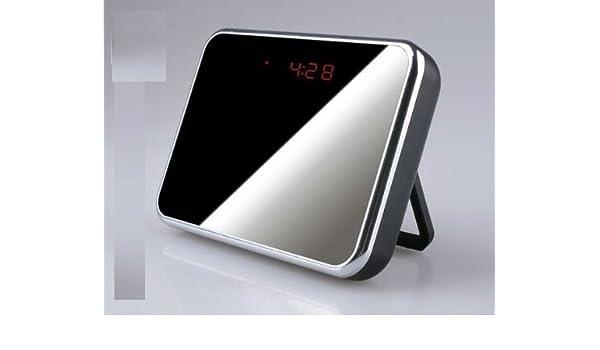 ALARMA, RELOJ ESPEJO SPY INDICADOR MICRO SD 16 GB, DISEÑO DE BÚHO-CÁMARA CAM 1280 X 960 MICRO CAMERA DETECTOR DE MOVIMIENTO: Amazon.es: Bricolaje y ...