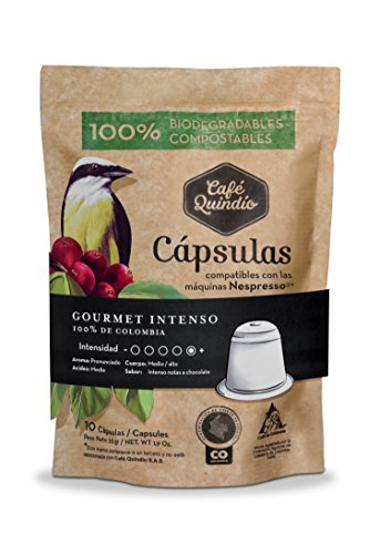 Coffee Quindio Capsules, Gourmet Coffee INTENSO, Compatible with Nespresso machines,100% Colombian Coffee,Dark Roast Coffee: Amazon.com: Grocery & Gourmet ...