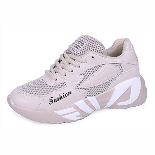 Neue Laufende Wilder Hohle Größe B Leichter Schuhe Sommer Bequemer Turnschuhe Mode 37 B Frauen Farbe YaXuan Hohle Sport Student nCgWq4SWwt