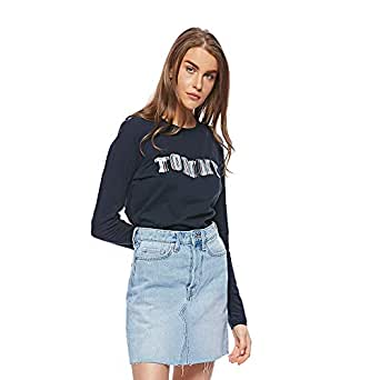 Tommy Hilfiger hoodies for women in Midnight Blue, Size:Large