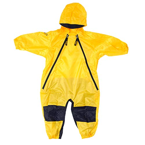 Tuffo Little Boys' Toddler Muddy Buddy Overalls, Yellow , - 30 Rainsuit