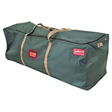"""58"""" Rolling Tree Duffel Christmas Tree Storage Bag - For Artificial Trees 4' - 9'"""