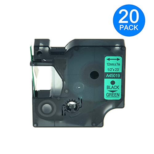 KCYMTONER Compatible DYMO D1 Label Replacement for D1 45019