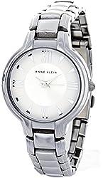 Anne Klein Women's Silver Dial Bracelet Quartz Watch AK/1743SVSV