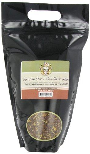 English Tea Store Rooibos Loose Leaf Caffeine Free Tea in Pouches, Bourbon St Vanilla, 16 Ounce