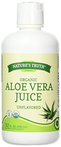 Nature's Truth New Organic Aloe Vera Juice, 32 Fluid Ounce