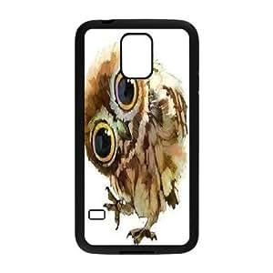 China's Illustrations Owl Samsung Galaxy S5 Case, Sexyass - Black