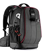 Neewer Pro Camera Case Waterproof Shockproof Adjustable Padded Camera Backpack Bag with Anti-Theft Combination Lock for…