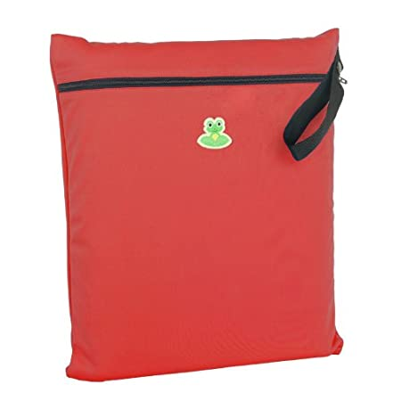 GO-FLUFF Wet Bag 13 x 14.75 inches Non-Minky Ruby Juju-Bling