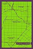 Notebook: Santa Ana California Design Notpad Journal for Men Women & Kids