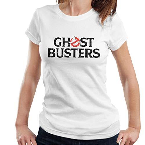 Ghostbusters Black Text Logo Women's T-Shirt, S to XXL