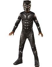 Rubies Officieel Black Panther Avengers Endgame-kostuum voor kinderen, uniseks, meerkleurig